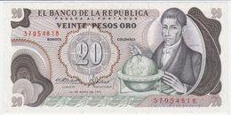 Colombia P 409 A - 20 Pesos Oro 1.5.1973 - UNC - Colombie