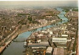 Nantes.. Belle Vue Aérienne Les Chantiers La Loire Les Ponts - Nantes