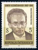 Österreich - Michel 1892 - ** Postfrisch (D) - Erwin Schrödinger - 1945-.... 2. Republik