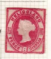 HELIGOLAND ANCIENNE COLLECTION - Heligoland (1867-1890)