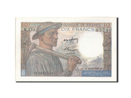 France, 10 Francs, 10 F 1941-1949 ''Mineur'', 1949, 1949-03-10, KM:99f, SPL,... - 10 F 1941-1949 ''Mineur''