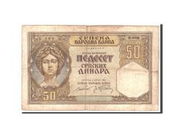 Serbie, 50 Dinara, 1941, KM:26, 1941-08-01, TB - Serbie