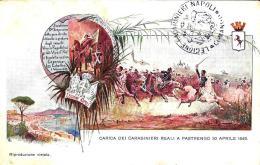 [DC9703] CPA - CARICA DEI CARABINIERI REALI A PASTRENGO 30 APRILE 1848 - Non Viaggiata - Old Postcard - Guerres - Autres