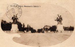 [DC9708] CPA - TORINO - PONTE MONUMENTALE UMBERTO I - Viaggiata 1920 - Old Postcard - Bridges