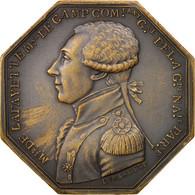 France, Token, Royal, Marquis De La Fayette, Compagnie Des Grenadiers - France