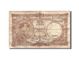 Belgique, 20 Francs, 1948, KM:116, 1948-09-01, TB - [ 6] Treasury