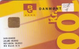 Denmark, DD 208H, Bg Bank Loenkonto 2.edition, Only 4450 Issued, 2 Scans.   09.02 - Danemark