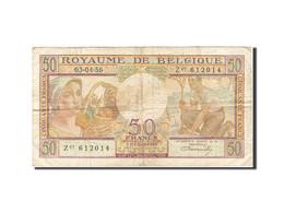 Belgique, 50 Francs, 1948-1950, KM:133b, 1956-04-03, TB - [ 6] Staatskas