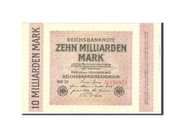 Allemagne, 10 Milliarden Mark, 1923, KM:117b, 1923-10-01, SUP - [ 3] 1918-1933 : République De Weimar