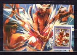 """POLYNESIE 1992 : Carte Maximum """" PECHEUR AU PATIA De P. KIENLEN / PAPEETE 09.12.1992 """" N° YT 424. Parfait. état. CM - Cartes-maximum"""