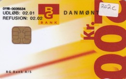 Denmark, DD 202C, 200 Kr, Bg Bank Pension 2.edition, Only 2.050 Issued, 2 Scans. - Danemark