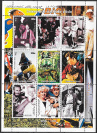 GUINEE GUINEA Bf 1998 ** MNH Elvis Presley FAMOUS PEOPLE - Elvis Presley