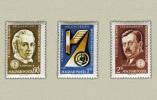 Hungary 1961. Transport Ministers Set MNH (**) Michel:1769-1771 / 1.50 EUR - Ungarn