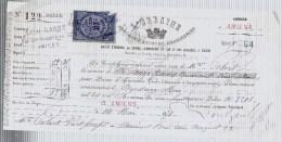 AMIENS.L´Urbaine.Prime D´assurance .reçu De Mme Colart La Somme De 12 Francs Quarante Cinq Centimes.14 Mai 1878. - France