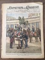 REVUE DOMENICA DEL CORRIERE ANNO 8 N° 48 2/12/1906 DUCA D AOSTA PESCA BRETGNA PECHE BRETAGNE - Magazines Et Périodiques