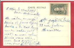 Y&T N°397  L'ALLEE    Vers  MARSEILLE 1938    VOIR 2 SCANS