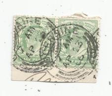 G-I-E , 2 Tiimbres , Grande Bretagne  , Half Penny  , Postage & Revenue , 1906 - 1902-1951 (Könige)