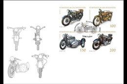Liechtenstein 2016 First Day Cover - Collections In Liechtenstein: Motorcycles - Liechtenstein