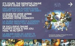 CARTE VIP GAMECUBE SUPER SMASHBROS MELEE NON GRATTEE - Nintendo GameCube