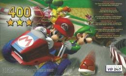 CARTE VIP GAMECUBE MARIO KART GRATTEE - Nintendo GameCube
