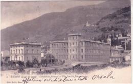 Bellano Cotonificio Cantoni E Villa Delle Sorelle Penso   Viaggiata 1905  C572 - Altre Città