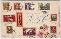 1919, Seltener Brief! Reko Und Express !  #6094 - Schweiz