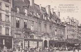 PARIS D´AUTREFOIS - 4 EME ARRONDISSEMENT - (75)  -  CPA TRÈS ANIMÉE. - Arrondissement: 04