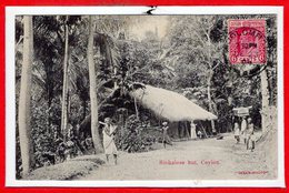 ASIE --  SRI LANKA - Ceylon  - Sinhalese Hut - Sri Lanka (Ceylon)