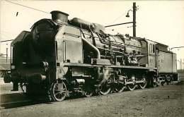 PHOTO VILAIN TRAIN - 170916 - 19 BRIVE 240A712 - Locomotive Gare Chemin De Fer - Brive La Gaillarde