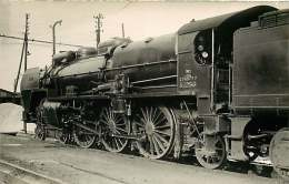 PHOTO VILAIN TRAIN - 170916 - LA CHAPELLE FIVES 3.12.56 - Locomotive Gare Chemin De Fer - Estaciones Con Trenes