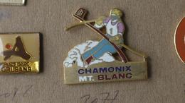 CHAMONIX MONT BLANC SKI SLALOM - Sports D'hiver