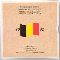 Royaume De Belgique - FDC - Set De Monnaies 1990 - 1951-1993: Baudouin I