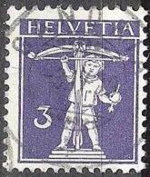 Fils De Tell-Knabe 1909: Zu 118 Mi 112 I Yv 129 Mit Zentrum-o GANDRIA 3.IV.10 (Zumstein CHF 20.00) - Svizzera