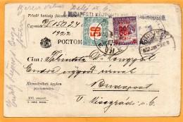 Hungary 1922 Card Mailed