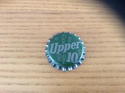 """Ancienne Capsule De Soda """"Upper 10 - COLUMBUS"""" Etats-Unis (USA) (intérieur Liège) - Soda"""