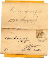 Hungary 1900 Card Mailed