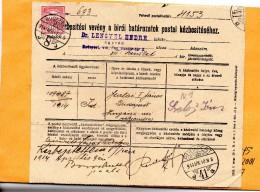 Hungary 1914 Document