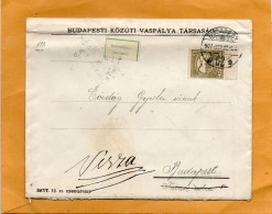 Hungary 1907 Cover