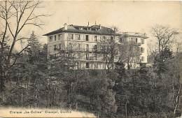 Suisse -ref C727- Clinique La Colline Champel - Geneve  - Carte Bon Etat - - Suisse