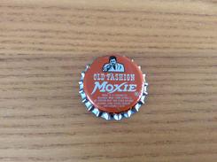 """Ancienne Capsule De Soda """"OLD FASHION Moxie, NORWICH SEVEN UP BOTTLING COMPANY"""" WHS Etats-Unis (USA) (intérieur Liège) - Soda"""