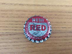 """Ancienne Capsule De Soda """"NEHI RED, STAMPS"""" WHS Etats-Unis (USA) (intérieur Liège) - Soda"""