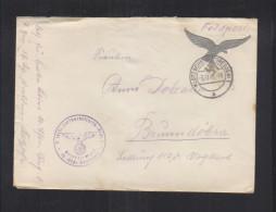 Feldpost 5 (Ers.) Luftnachrichten-Regt. 1 - Briefe U. Dokumente