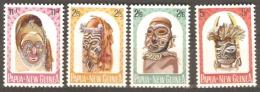 Papua And New Guinea 1964  SG 51-54Native Artifacts Unmounted Mint - Papúa Nueva Guinea