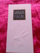 VANILLA FIELDS  DE COTY (Hongrois) - Modern (from 1961)
