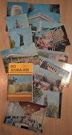 VD3855 View Cards Set (16 Pcs) City ALMATY Kazakhstan Issue 1979 - Zonder Classificatie