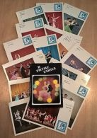 VD3854 View Cards Set (15 Pcs) IN DANCE RHYTHM Issue 1983 - Zonder Classificatie