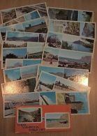 VD3862 View Cards Set (17 Pcs) City SUDAK Ukraine Russia Issue 1987 - Rusland
