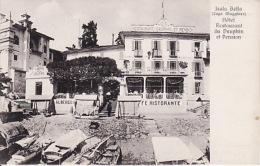 Isola Bella- Albergo Del Delfino- Hôtel Restaurant Du Dauphin Et Pension - Andere Städte