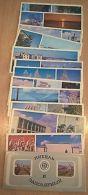 VD3861 View Cards Set (12 Pcs) City NIKEL Polar Russia 1980 - Rusland