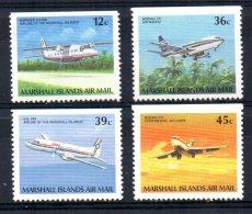 Marshall Islands - 1989 - Airmails/Airplanes  - MNH - Marshall